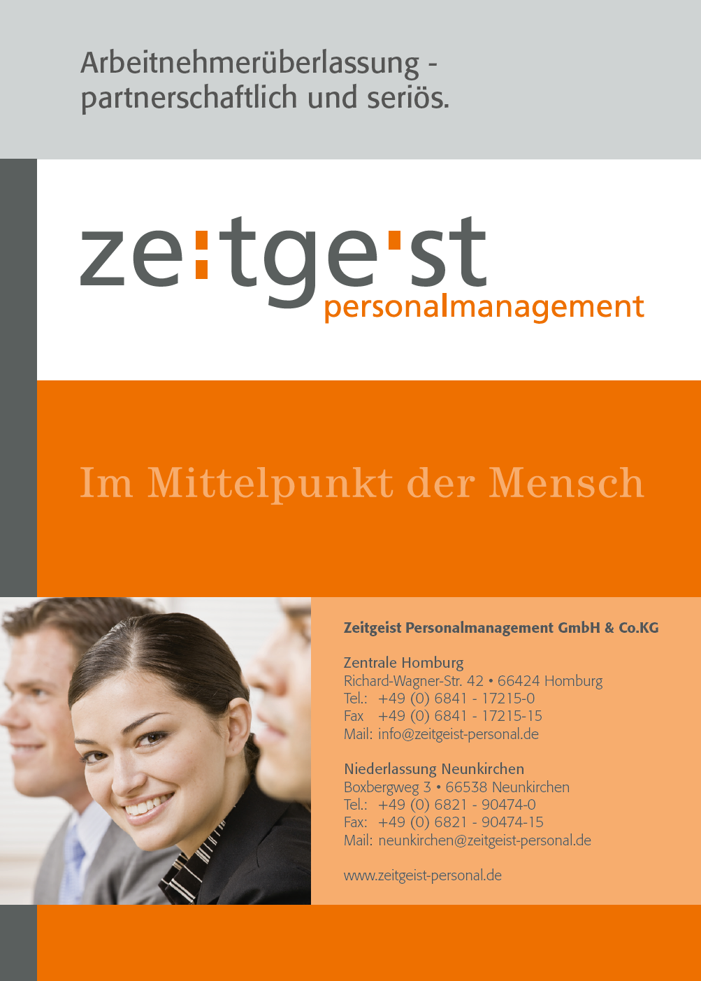 ZeitgeistPersonalmanagement